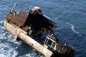 Catástrofes ecológicas y barcos petroleros