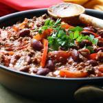 """Minestrone de """"carillas"""" con verduras"""