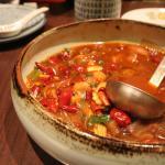 Sopa de Tomate con Uvas de Córdoba