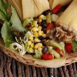 Tamales con almendras