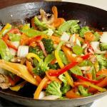 Chop Suey vegetariano