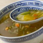 Receta de sopa de quínoa