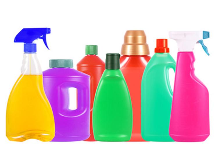 Resultado de imagen de productos de limpieza tachados