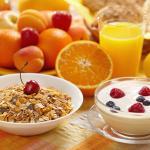 Desayunar con muesli