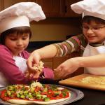 Pizza sin gluten de champiñones