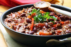 """Receta de minestrone de """"carillas"""" con verduras"""
