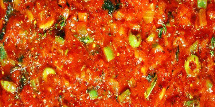 Receta de Coca con Tomate
