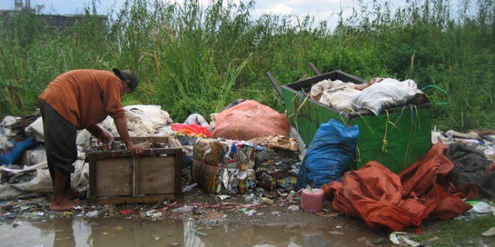 Los vertederos de basura, fuentes de contaminación