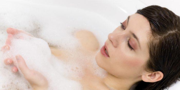 Beneficios de los baños relajantes