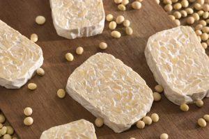 Tempeh con espinacas, aporte de proteínas y hierro