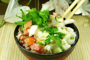 Receta de ensalada de algas