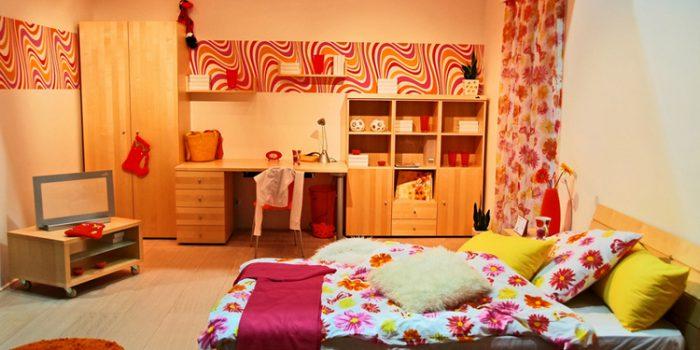 El dormitorio de los adolescentes
