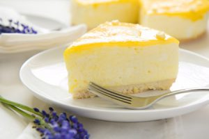 Pastel sin leche con limón, rico y digestivo