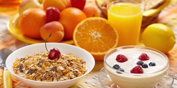 Desayunar con muesli, una excelente alternativa