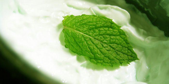 Como hacer salsa de yogur y menta
