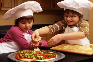 Receta de pizza sin gluten de champiñones