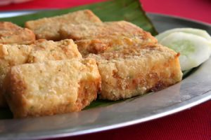 Receta de Tofu empanado