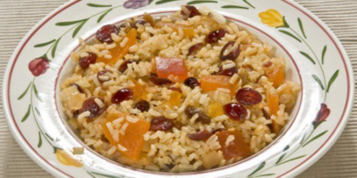 Receta de pilaff con frutos secos