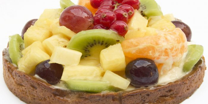 Receta de pastel de frutas