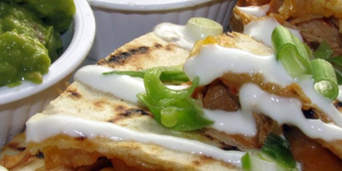 Receta de quesadillas