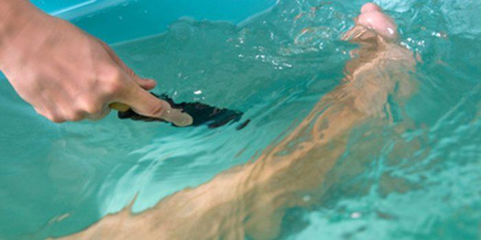 Aplicaciones de los baños para las lesiones deportivas