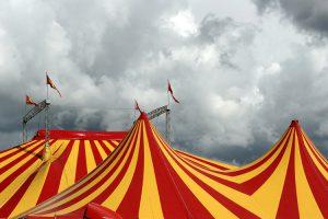 Las entradas del circo