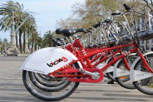 Alquiler de bicicletas o Bicing
