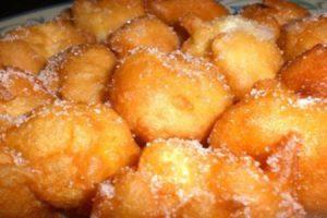 Como hacer buñuelos, receta valenciana