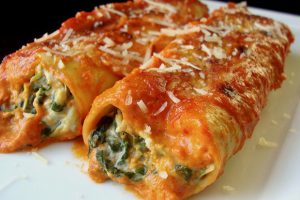 Recetas de Canelones de verduras