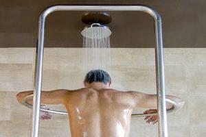 Clases de duchas terapéuticas