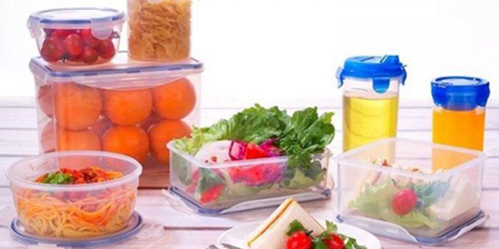 Inconvenientes de los recipientes de plástico para alimentos