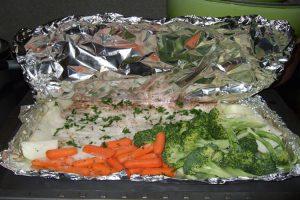 Cocinar en papillote, más sano imposible