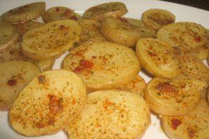 "Patatas asadas al horno, al estilo ""Gratin Dauphinois"""