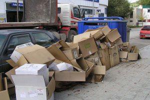 Ventajas del reciclaje de cartón