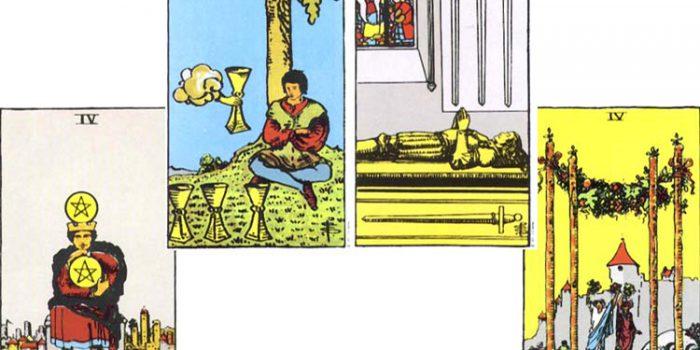 Significado de los Arcanos de número 4