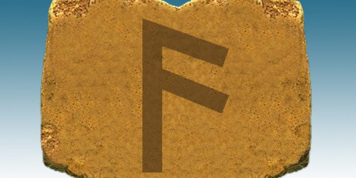 Significado adivinatorio de la runa Anzus