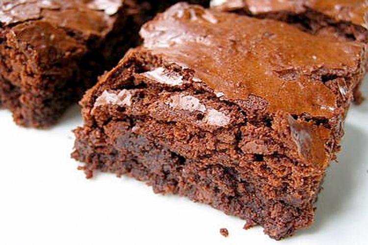 brownie con levadura