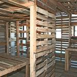 Viviendas ecológicas con tarimas de madera