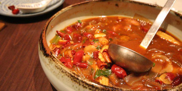 Receta de sopa de tomate con uvas de Córdoba