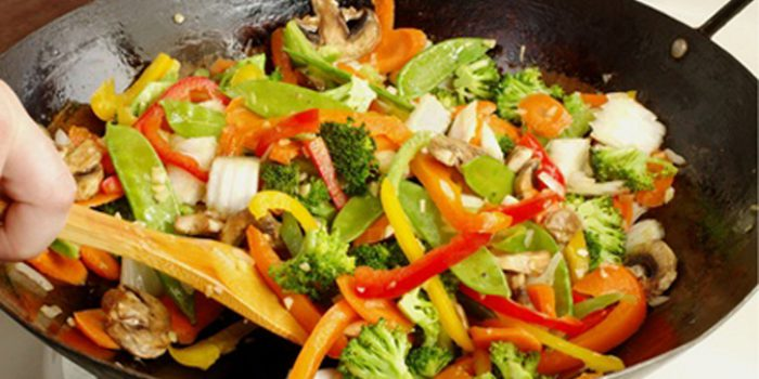 Receta de Tempeh salteado con verduras