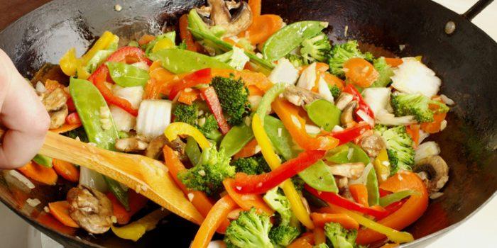 Receta de Chop Suey vegetariano