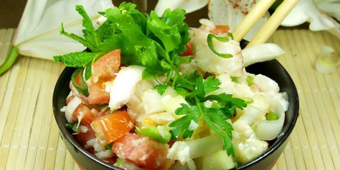 Receta de ensalada de algas Wakame o Dulce