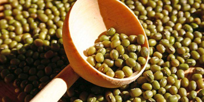 Receta de soja verde salteada con calabaza