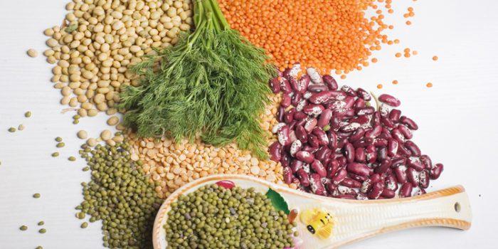 Receta del dal o daal, combinación de legumbres