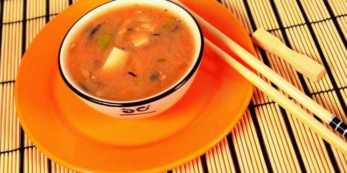 Receta de sopa de Mugi Miso