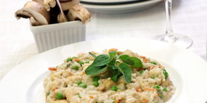 Receta de arroz Integral con algas