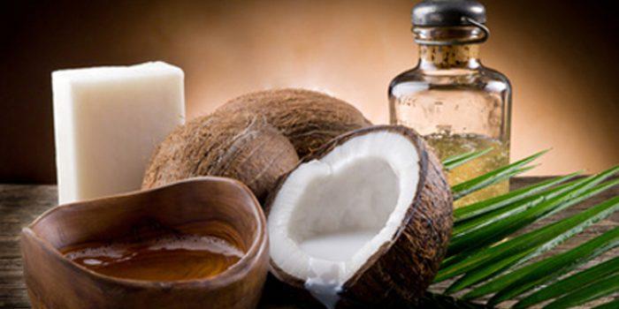 Aceite de coco en la cosmética