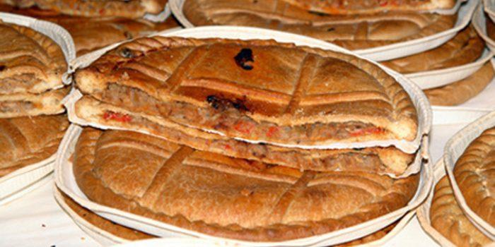Receta de empanada de puerros