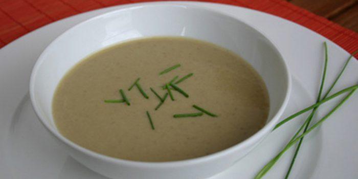 Receta de sopa de amaranto y champiñones