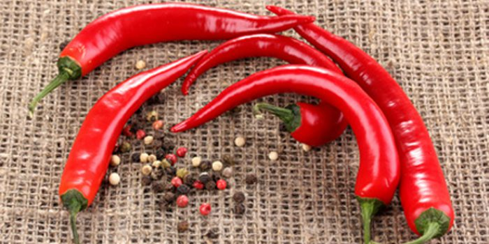 Propiedades de la pimienta de cayena